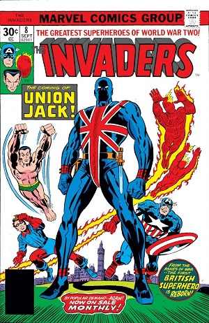 Invaders #7-10 (July-November 1976) – THE VIRTUES OF CAPTAIN